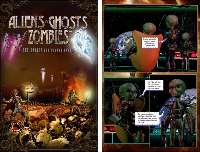 AGZ Graphic Novel - Cover & Page 7