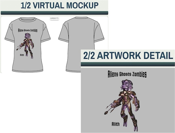 AGZ Men's Character T-Shirt in Select Sizes, Colors, & Species