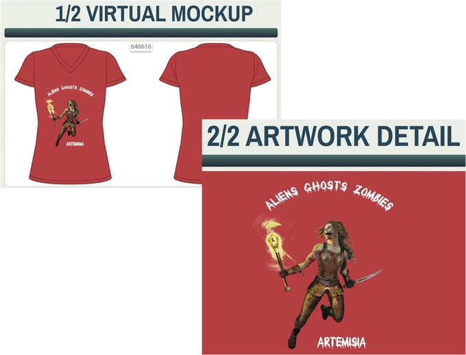 AGZ Women's Character T-Shirt in select Sizes, Colors and Species