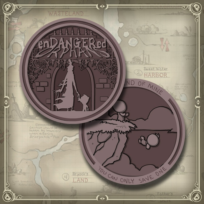 WE FINALLY GOT AROUND TO MAKING A COIN FOR OUR FIRST GAME!