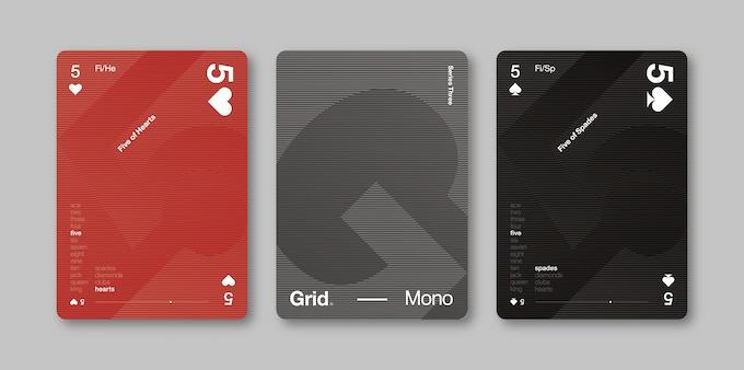 Grid. Series Three - Mono Edition
