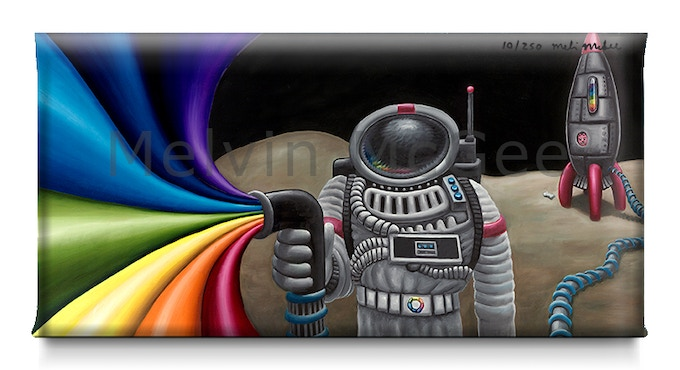 Coloring Outside The Lines (Available in Small Canvas, Medium Canvas, Large Canvas, Extra Large Canvas)