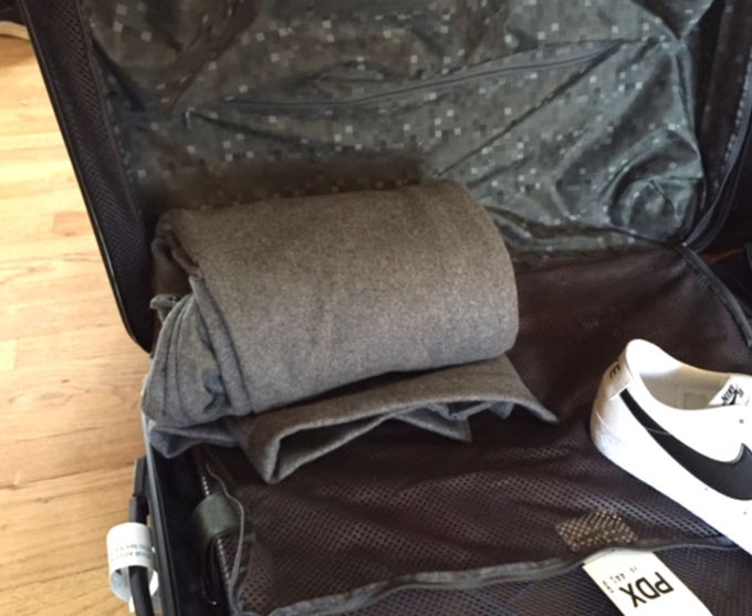 Compact and light coat perfect for travel
