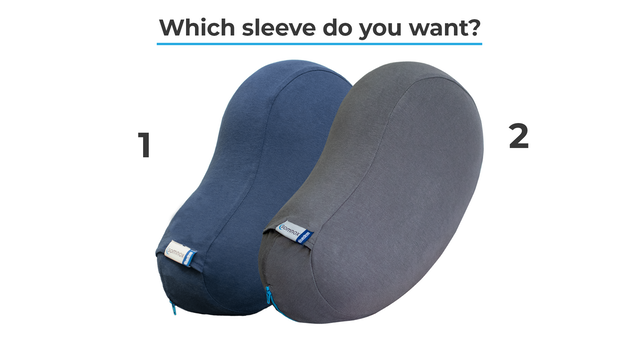 Choose your sleeve (1) = Blue (2) = Grey