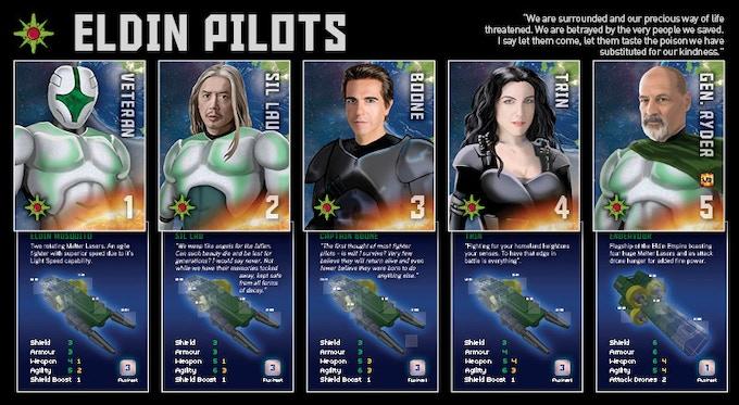 Eldin Empire - Pilot Cards