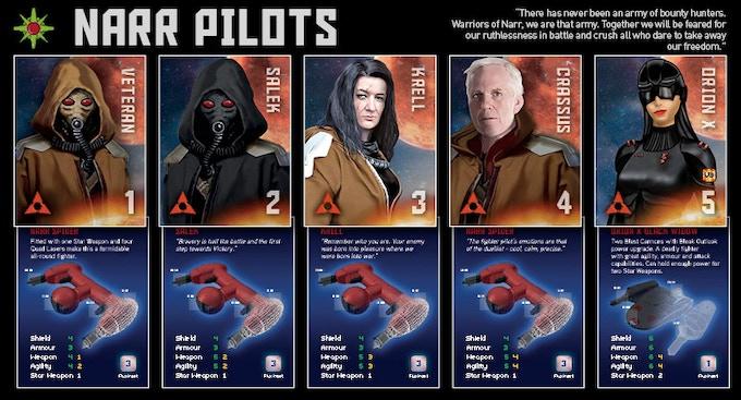 Narr Empire - Pilot Cards