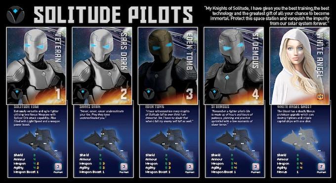 Solitude Empire - Pilot Cards