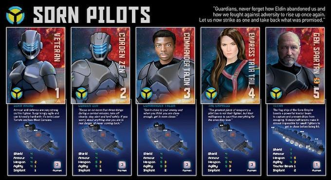 Sorn Empire - Pilot Cards