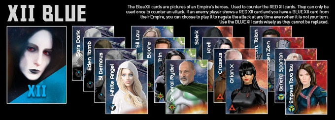 Blue XII Cards