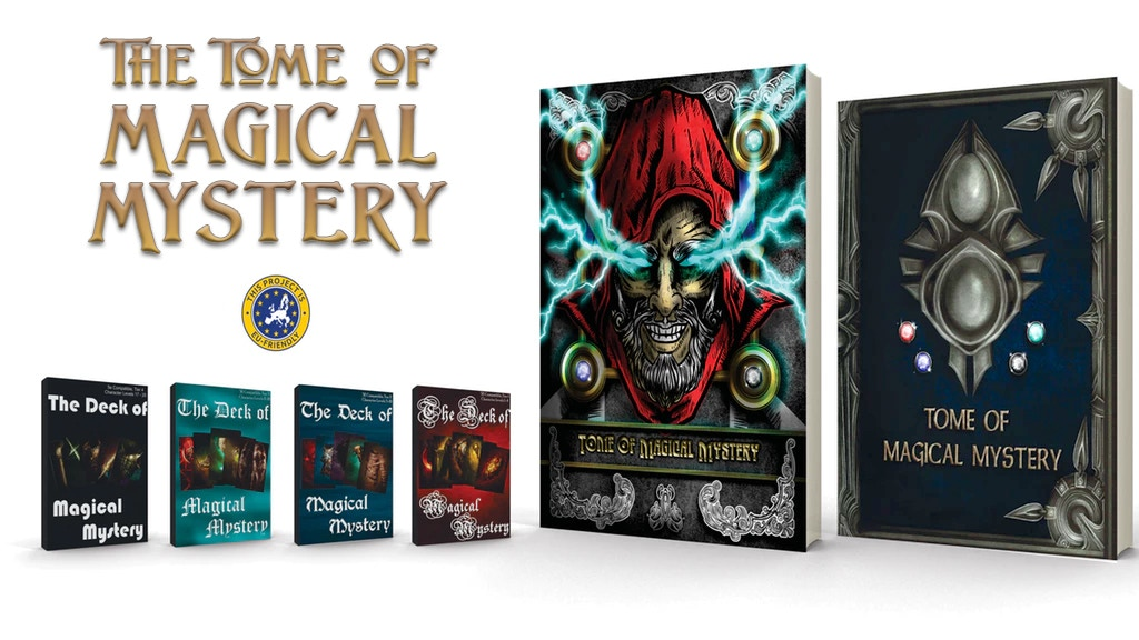 The Tome of Magical Mystery (5E Compatible) project video thumbnail