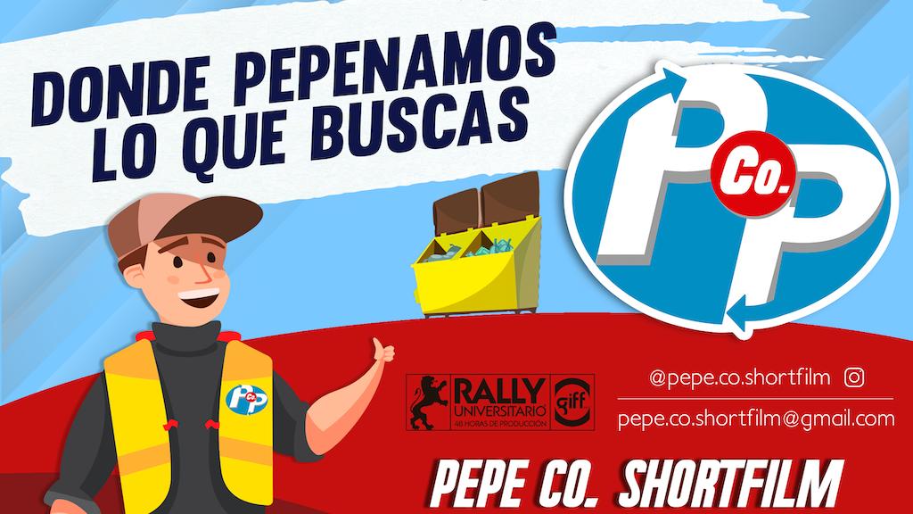 """""""PEPE Co."""" Shortfilm project video thumbnail"""
