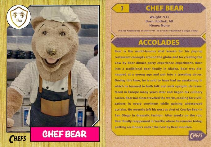 Chef Bear's bio