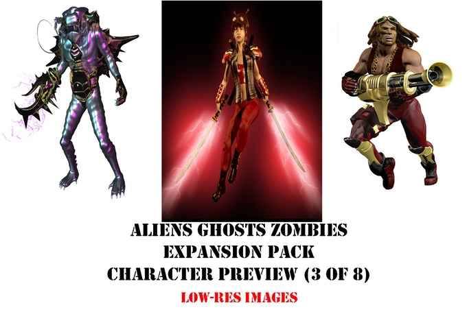 AGZ Expansion Set Preview (3 of 8 Characters) Low-Res Images