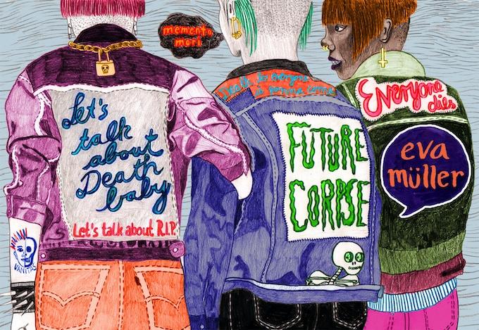"""Wraparound cover for """"Future Corpse"""""""