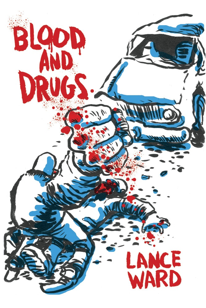 """Front cover of """"Blood and Drugs"""""""