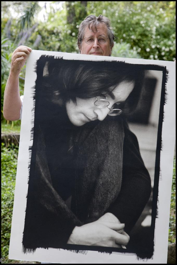 Perhaps my favorite print of all. John Lennon 30x40 Platinum