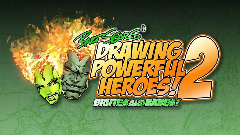 Bart Sears' Drawing Powerful Heroes: Brutes and Babes V2! project video thumbnail