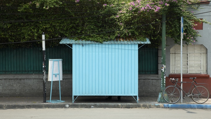 Our Newsstand located in Mexico City.