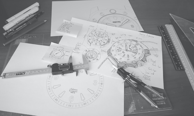Final drawings of the Acheron