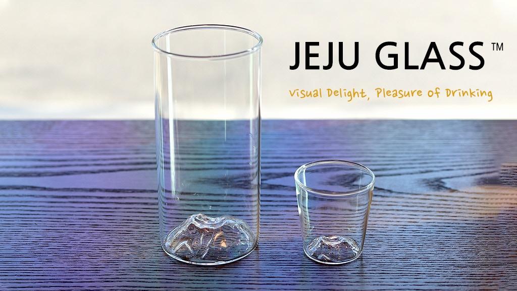 JEJU GLASS : Visual Delight, Pleasure of Drinking