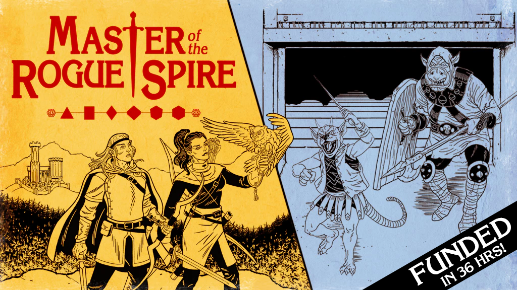 Master of the Rogue Spire: A Classic Fantasy RPG project video thumbnail