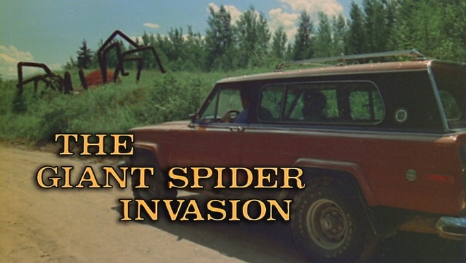 THE GIANT SPIDER INVASION - LIVE on August 15th!