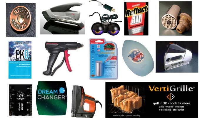 Examples of products developed, commercialized and manufactured by Invention City
