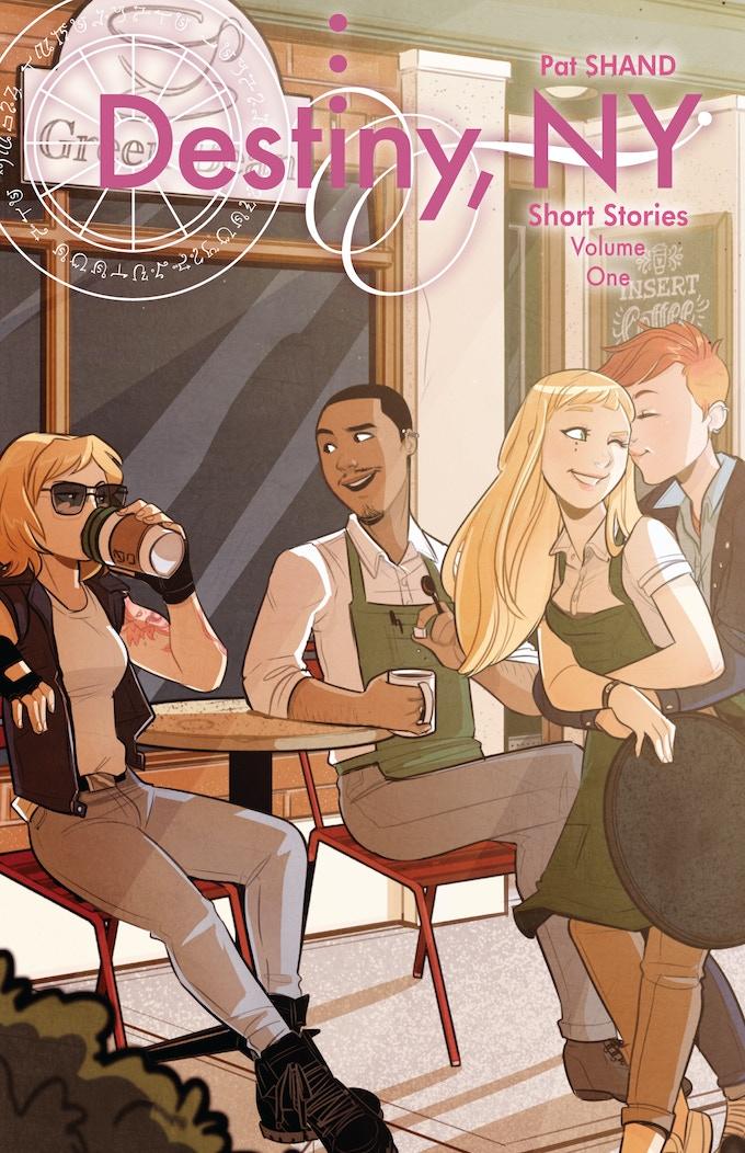 The standard cover by brilliant artist Jenn St-Onge