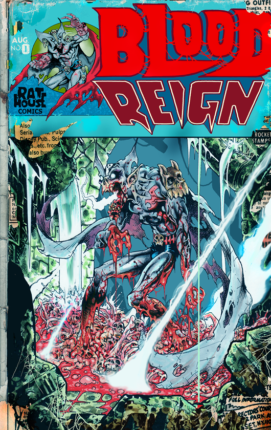 Blood Reign #0 cover, if we can it there! 2400.00 is the goal!