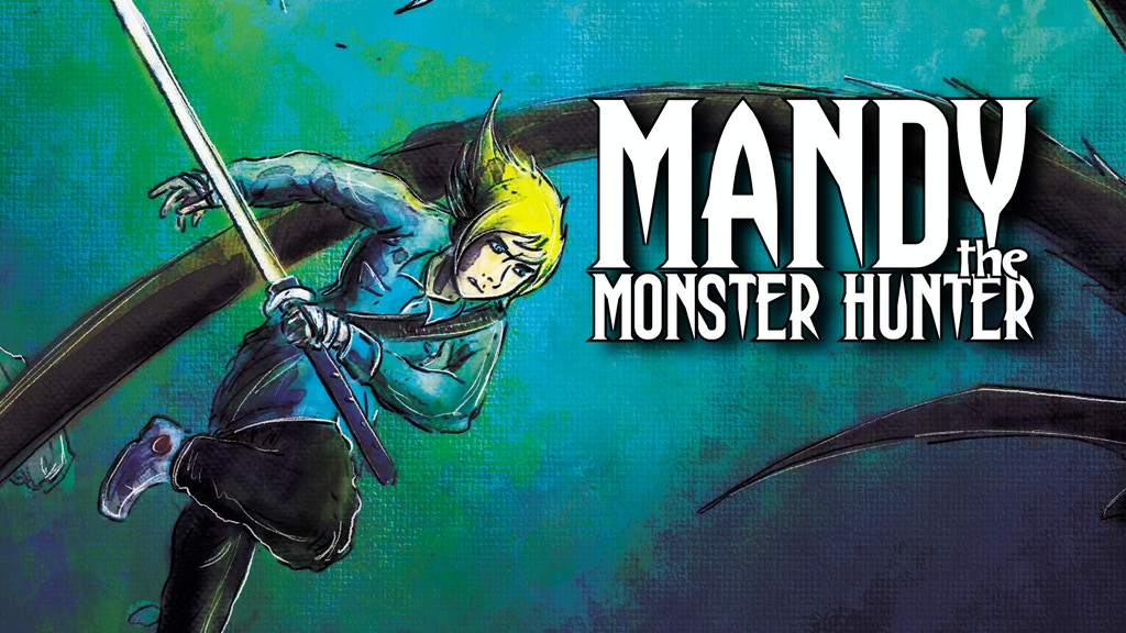FINAL ISSUE Mandy the Monster Hunter: Spindly Man #4 project video thumbnail