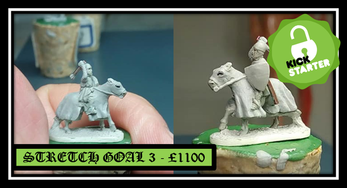 Unlocked Stretch Goal 3 - Mounted Armored Sergeant with Mace