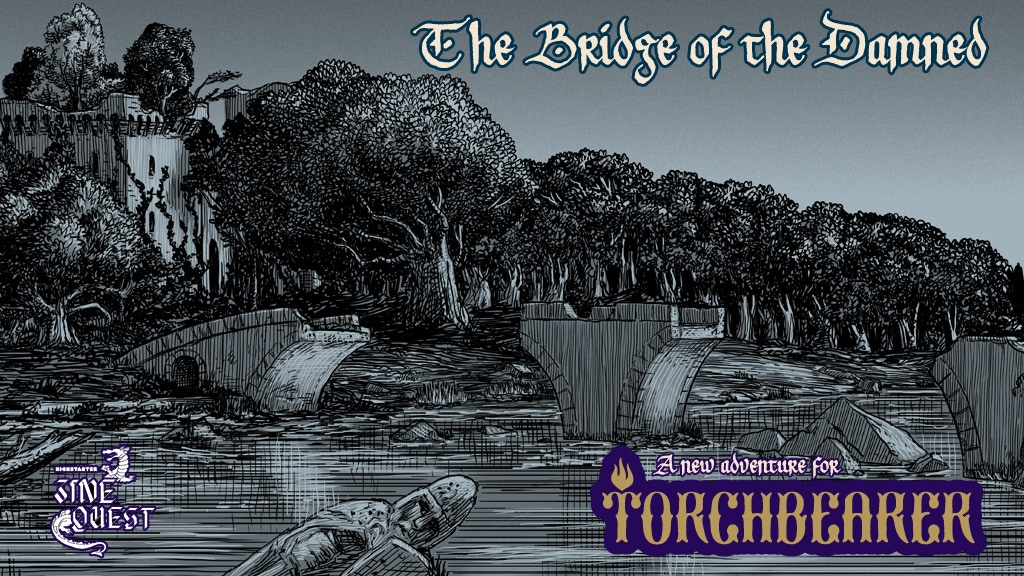 A new Torchbearer adventure for characters levels 2-3.