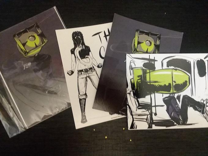 Sweet, sweet postcards
