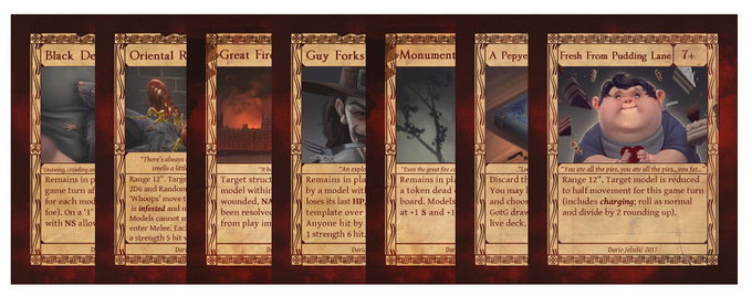 Gift of the Gods Cards - London's Burning Expansion
