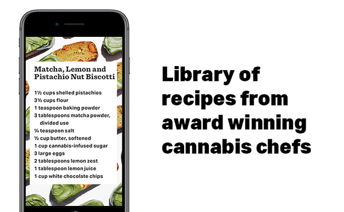 Hundreds of infused cannabis recipes from award winning chefs, with specific dosing information