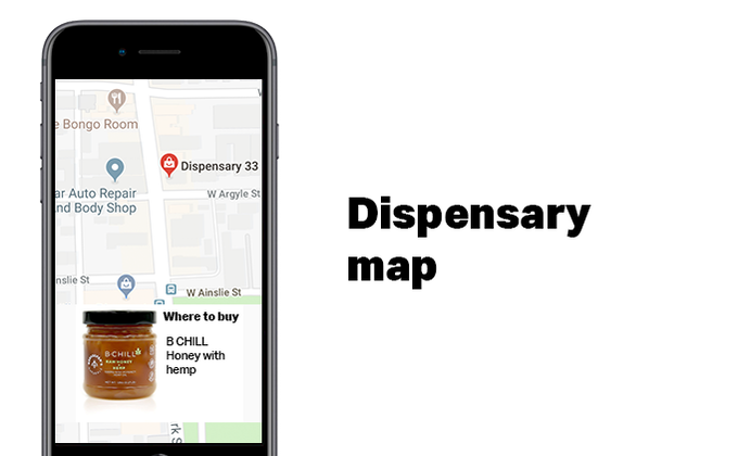 Licensed dispensary map to help you find high quality cannabis ingredients