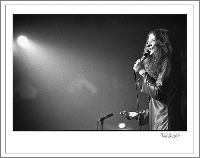 8x10 Janis Joplin Royal Albert Hall 1969 (8x10 choice)