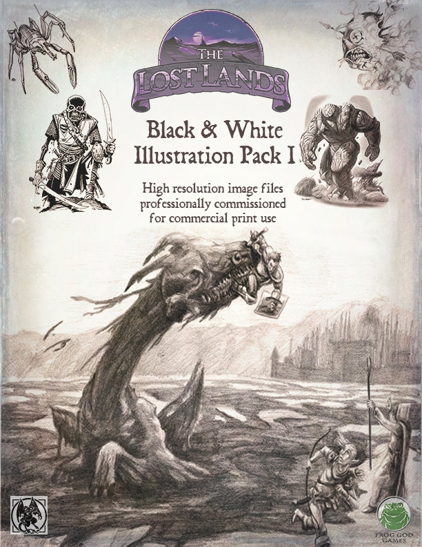 Example of the thousands of illustrations and maps that will be available for 3rd party publishers or really awesome Game Masters.