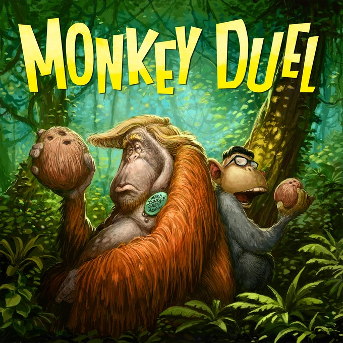 MONKEY DUEL - KING CON and KING FU