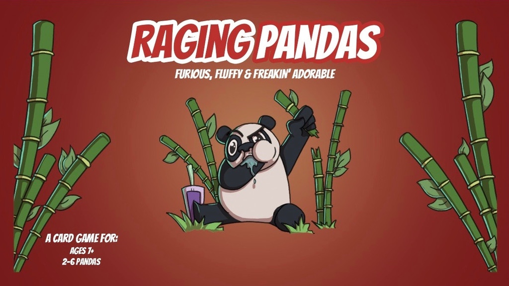 RAGING PANDAS: A Hilarious & Panda Approved Party Game project video thumbnail