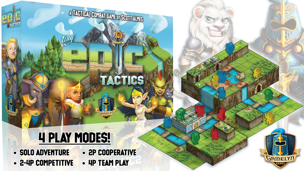 Tiny Epic Tactics - Featuring a 3D Environment is the top crowdfunding project launched today. Tiny Epic Tactics - Featuring a 3D Environment raised over $206458 from 4591 backers. Other top projects include Sphero RVR – The go anywhere, do anything programmable robot, Chocolate Factory - For 1-4 chocolatiers!, ...