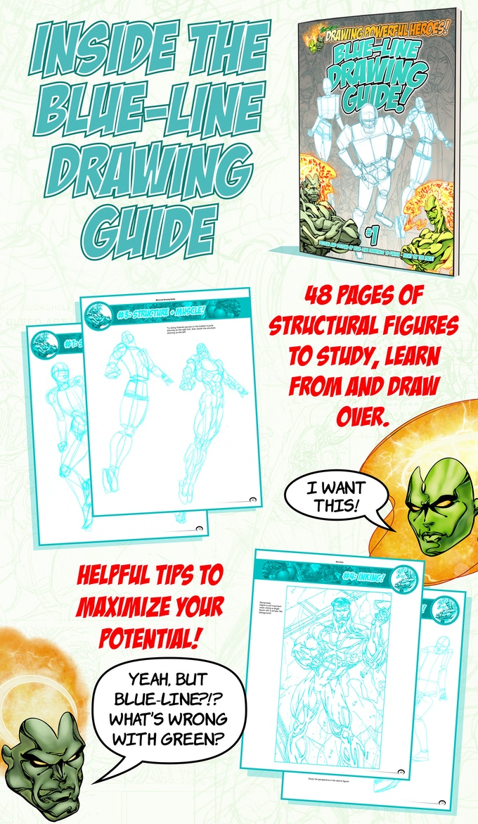 Inside the Blue-Line Drawing Guide!