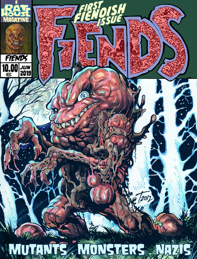 FIENDS #1 10.00 add on. First time in Magazine format.