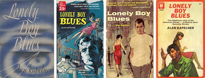 Left to right: The original Scribner's edition (1944), the Lion Books edition (1956), the Belmont Books edition (1961), and the Mayflower-Dell edition (1965)