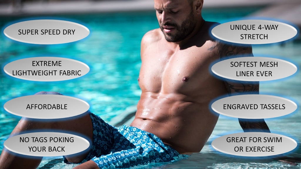 HARMONQLO | World's Fastest Drying & Stretchiest Swim Shorts project video thumbnail