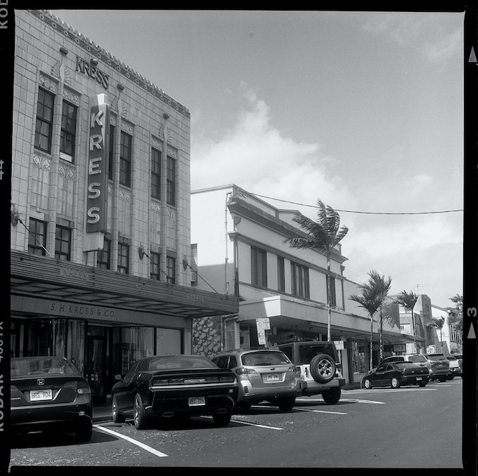 First roll of film developed in The Hawaii Darkroom