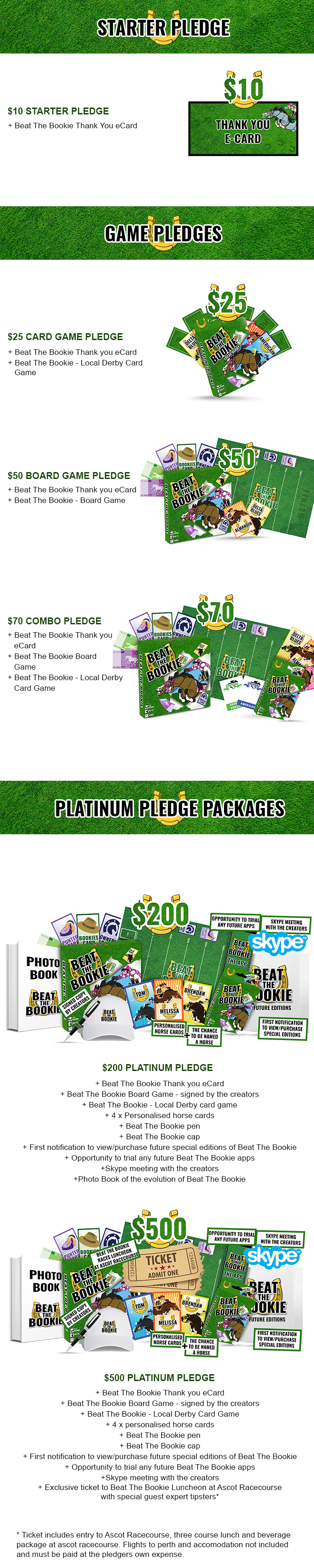 BackIt com - Beat The Bookie - Horse Racing Board Game and