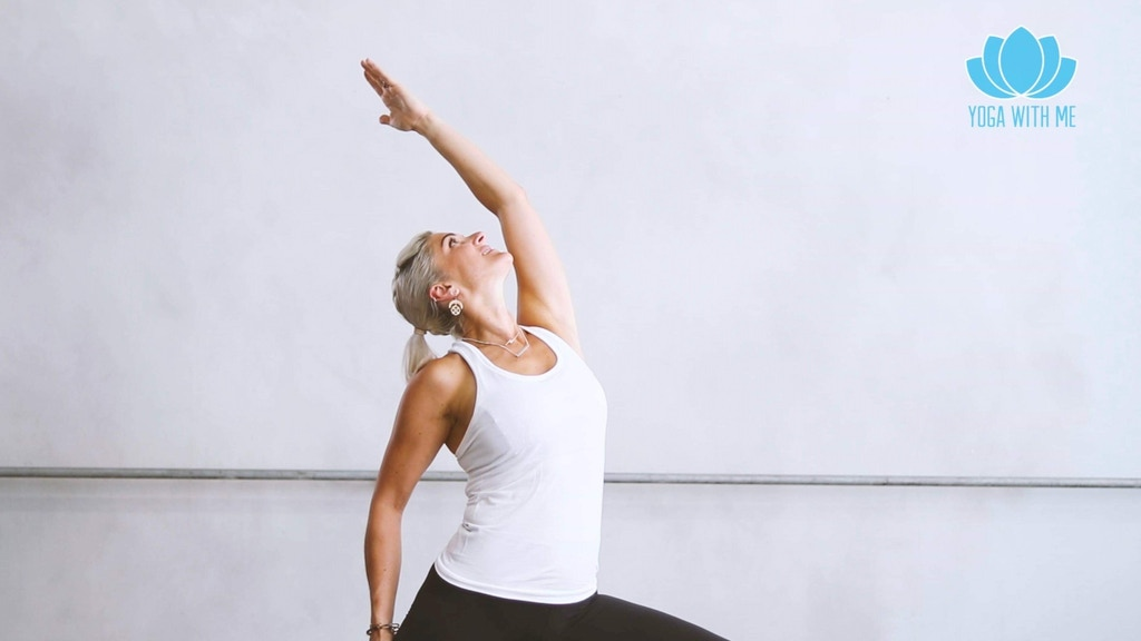 Yoga With Me: at home yoga practices for busy people project video thumbnail