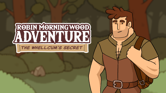 Robin Morningwood Adventure is a gay (bara) erotic dating simulator and adventure video game. The full version of the game is planned for September, 2020 and the beta test version in early 2020 (reserved for the Adventurer and Villager backers)!