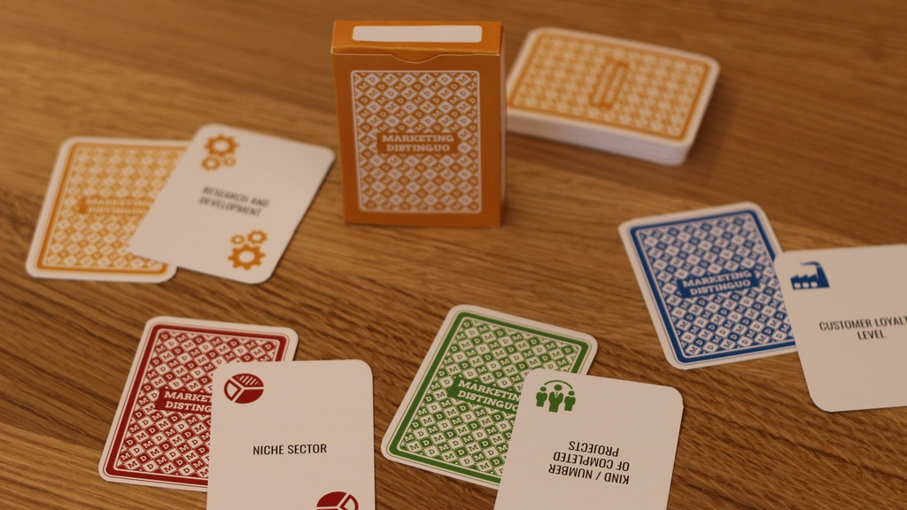Marketing Distinguo card deck for managers and entrepreneurs project video thumbnail